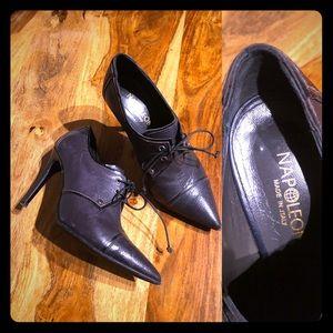 Italian leather high heels/6